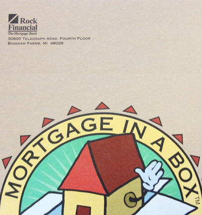 Mortgage in a box advertisement